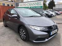 Honda Civic 1.6 i-DTEC S Hatchback 5dr (dab, bluetooth, premium audio)£8,995