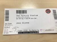 Jess Glynn Tickets Falkirk Stadium x 2