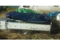 Scrap trailer tent(IN SWANSEA)