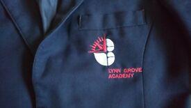 Girls Lynn grove academy blazer in good condition.