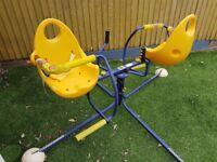 Wurlybird flyer deluxe - kids garden fairground ride!