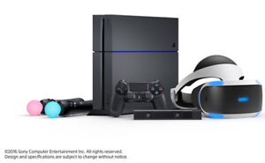 Rent PS4 VR + System in Kingston and Surrounding Area