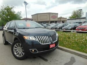 2013 Lincoln MKX AWD-NAVI-PANORAMIC-CAMERA-DVD