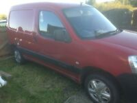 Citroen berlingo van 1.9 red