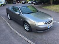 2005 SAAB 9-3 LINEAR CONVERTIBLE MANUAL 1.8 TURBO 150BHP