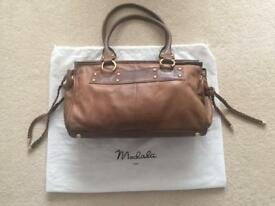 Modala Brown Leather Handbag