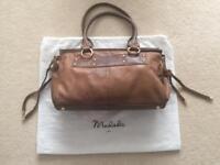 Modala Brown Leather Handbag