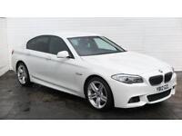 2012 BMW 5 Series 2012 12 BMW 535D 3.0 D M Sport Diesel white Automatic