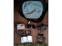 Sharp VL-NZ10 - camcorder, mini-DV, SD card with travel bag