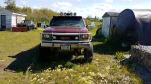 Lifted 1995 GMC 4x4