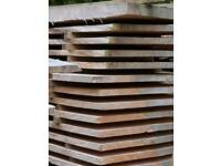 Larch wood boards