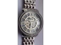 Fossil ME3059 Curiosity Automatic Stainless Steel Watch Boxed