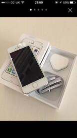 iPhone 5s 16 gb silver on Vodafone