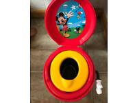Child's Mickey Mouse potty