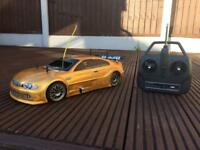 Thunder tiger TS4N nitro rc car BMW M3 shell