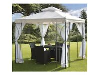 Gazebo replacement canopy and side curtains