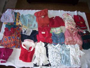 Vêtements bébé fille 0-18 mois 120 morceaux
