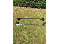 Roofbars for a Vauxhall Corsa or Meriva