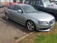 Audi a4 2.0tdi auto, 08 reg, s-line, no tax or mot, has clutch problem but drives £2150 kilmarnock