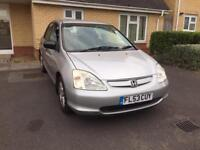 2003 Honda civic 1.6 Automatic, Mileage 66800,One owner, Full history ••£1300••