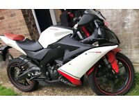 125cc derbi Gpr fastest 125cc bikes around Rides Like New