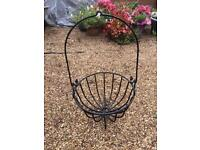 Cauldron plant basket - refurbished