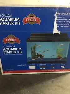 Need gone! 10 gallon aquarium  with accessories