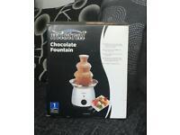 Chocolate fountain £5