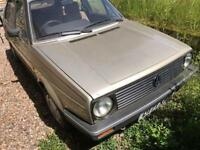 1986 MK2 Golf for Restoration for sale or swap for caravan