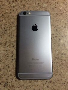 Space gray iPhone 6 16gb