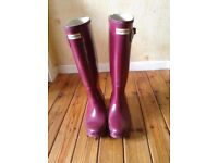 GENUINE HUNTER WELLIES £50 ovno