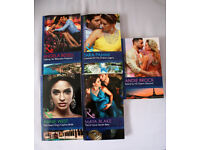 5 Mills & Boon paperback 2017 Publication books