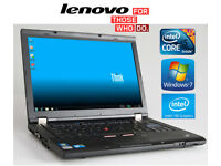 May Deliver - IBM Lenovo Laptop Core i5 2.4Ghz Laptop with 4Gb and Windows7 64Bit