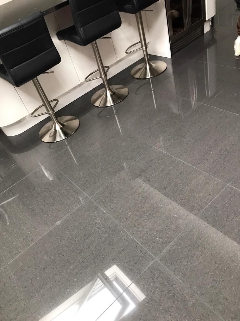 Charcoal Grey Floor Tiles