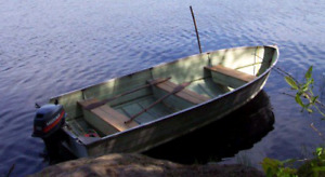 Looking for a tin boat 12 to 16 foot