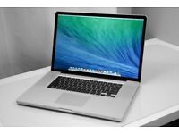 "HIGH SPECIFICATION MacBook Pro 17"" 3.3ghz i7 quad core, 750gb RECEIPT"