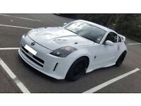 2003 RARE NISSAN 350Z NISMO WHITE AUTOMATIC 3.5 V6 PETROL BLACK BBS ALLOYS TAN LEATHER HEAD TURNER