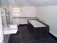 ENGLISH A-Z HandyTRADESMAN 40+ years experience Elec Plumb Kitchen Bathroom Plastering tiling etc