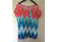 Brand New Size 10 Animal Top