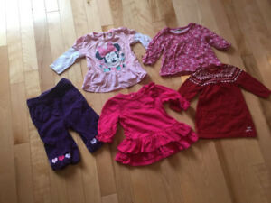 Lot of 3-6m Clothes - Mexx, Disney, Cherokee, and George