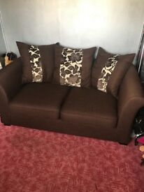Brown Sofa Bed/couch