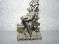 DRAGON PEWTER COLLECTIBLE ORNAMENT.