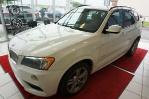 2013 BMW X3 35i-M PACKAGE-TOIT PANO AWD EXCELLENTE CONDITION