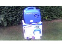 hyundai hy2000si petrol inverter generator brand new never been used.
