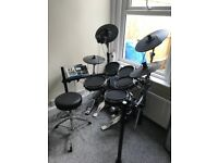 Alesis DM10 studio with mesh head conversion Electronic Drum Kit