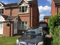 Meanwood £775 pcm, 2 bed furnished house. Off street parking. Quiet residential area.