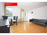 BEAUTIFULLY PRESENT TOP FLOOR 1 BED APARTMENT-FURNISHED WITH BALCONY IN HELION COURT WESTFERRY RD