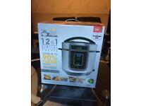 Pressure king pro 12 in 1 digital pressure cooker rrp £60