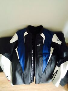 MOTOGP ALPINESTARS PERFORATED LEATHER JACKET