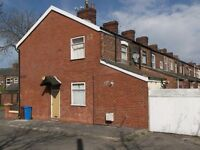 2 bedroom terraced house to let in Manchester